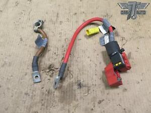 06-09 LAND RANGE ROVER HSE L322 SET OF 2 POSITIVE & NEGATIVE BATTERY CABLE OEM