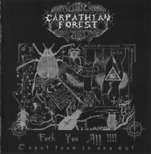CARPATHIAN FOREST ‎Fuck You All - Caput Tuum In Ano Est CD