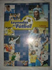 ALBUM STICKERS THE LEGENDS OF FOOTBALL 2003 100% COMPLETE PERU LIBERO EDIT RARE