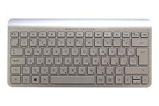 New HP Russian Windows Linux PC Silver Wireless Keyboard694676-251