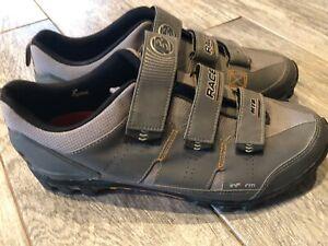 Bontrager Cycling Shoes size 13 Racing Race Mountain Gray US Inform MTB 415381