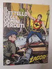 Zagor Sergio Bonelli Editore n.292 anno 1985 Il battello degli uomini perduti
