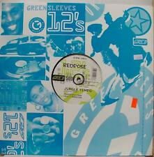 """Redrose - Jungle Tempo / Hotter Junglematical Style 12"""" VG+ GRED 5007 Vinyl 1995"""