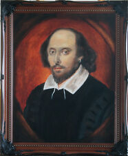 William Shakespeare - Framed Oil Painting Art from Ireland FREE SHIPPING!