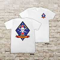 1st Marines Division 1st Recon Battalion Guadalcanal USMC Marine Corp T-Shirt