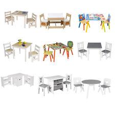 Kindersitzgruppe Kindertisch 2 Stühle Sitzgruppe mit Stauraum #1791