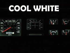 Gauge Cluster LED Dash kit Cool White For Ford 80 86  F100 F150 F250 F350 Truck
