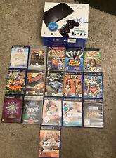 PlayStation 2 mit 16 Spiele In OVP Buzzer Sing Star