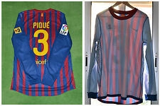 FC BARCELONA SHIRT CAMISETA PIQUE PLAYER ISSUE - MATCH UN WORN / 2011-12  MESSI