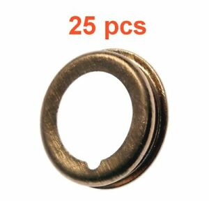 (25) Marli 12 mm Foldover Copper Oil Drain Plug Gaskets Fits Nissan Infinity