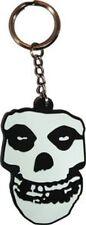 Misfits - Skull Logo - Rubber Keychain - Brand New - Music Band 0223
