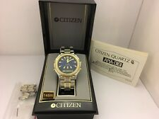 Citizen C480-S27247 Ana-Digi Chrono Alarm Quartz Rare Collectible Watch