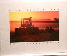 CASE International 9200 Series 4 WD Sales Brochure