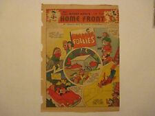 WALT DISNEY MICKEY MOUSE ON THE HOMEFRONT WWII 2 COMIC NOVEMBER 1943 VERY RARE