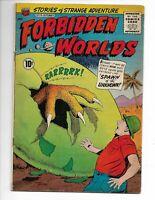"Forbidden Worlds 98 F- (5.5) 9/61 ACG! ""Spawn of the Unknown!"""