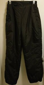 Girl Boy Polar Edge Ski Snowboard Insulated Snow Pants - Sz. Small Black EUC!