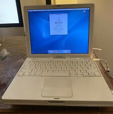 "Apple iBook A1054 12.1"" Notebook/Laptop w/ PowerPC G4 1.2Ghz 512MB RAM 30GB HDD"