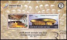 2017 INDIA STAMP - CHHATRAPATI SHIVAJI INTERNATIONAL - ₹20 - MINIATURE SHEET