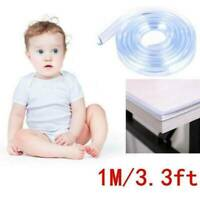 Baby Safety Desk Table Edge Corner Protector Cushion Guard Strip Soft Bumper UK