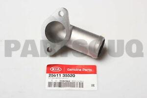 2561135520 Genuine Hyundai / KIA FITTING-WATER OUTLET