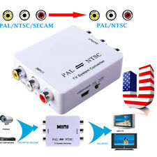 【USA】 PAL/NTSC/SECAM to PAL/NTSC Bi-directional TV System Switcher Converter