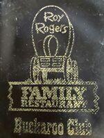 1970s ROY ROGERS FAMILY RESTAURANT vintage plastic card sleeve BUCKAROO CLUB