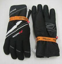 """Men'S Zanier """"Rauris. Gtx"""" Ski Snowboard Gloves (Black White) (Medium)"""