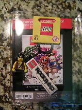 Lego Rock Band Promo Key Chain Limited Edition NWT 852889