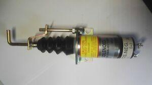 Fuel Shut Off Solenoid Valve Shutdown 12V 366-07197 for Lister Petter SA-3405T