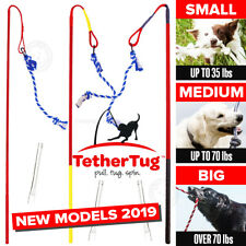 Tether Tug V2 Outdoor Dog Interactive Toy Tugging Pull Exercise 5-70 lbs and Up