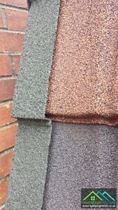 Granulated Lightweight PlasticDry Verge Roof Edging Caps Solid Conservatory Roof