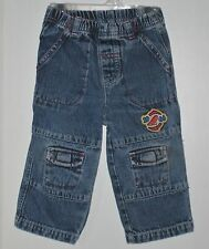 The Wonderful Word of DISNEY Boys Size 12 Months Blue Denim Pull-On Jeans