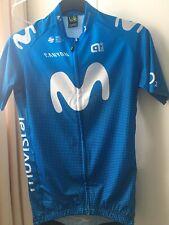 Ale Cycling Short Sleeve Jersey Movistar Team Mens