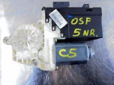 Citroen C5 Window Motor Regulator Driver Side 9632531780