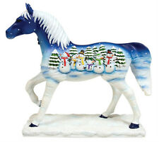 Trail of Painted Ponies LET IT SNOW PONY FIGURINE Resin, New in Box, 1st Edition