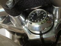 New! British Made Pro-Street Low Harley Sportster® Torx Steering Bolt Clock