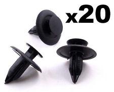 20x MAZDA 6mm Interior Trim Fastener Clip per tagliare i pannelli, le fasce & Rivestimenti