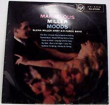 GLENN MILLER ARMY AIR FORCE BAND : MARVELOUS MILLER MOODS Album Vinyl LP Mono EX