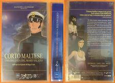 VHS film CORTO MALTESE una ballata del mare salato PRATT sigillata (F239) no dvd