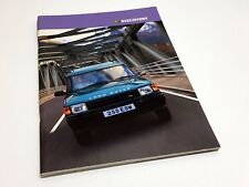 1997 Land Rover Discovery Brochure - UK Version