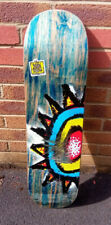 New Deal Skateboard Deck WTF Sun 90's Shallow Popsicle Deck Multi 8.75