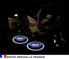 logo AUDI led porte projecteurs lumineux lazer sol emblèmes neuf X2