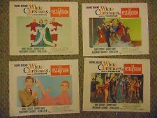 Danny Kaye Bing Crosby White Christmas Set Of 8 Original Lobby Cards #L9504