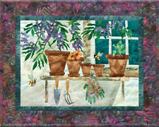 Back to Beez-ness In Full Bloom Gardening McKenna Ryan Pine Needle Quilt Pattern