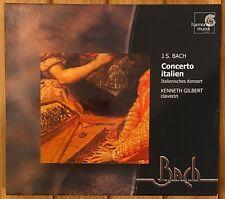 J.S. Bach Concerto Italien, Kenneth Gilbert, Harpsichord, Harmonia Mundi CD