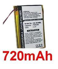 Batterie 720mAh type IE10 Pour iRiver E10
