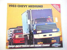 1983 Chevy Medium Trucks showroom sales brochure GM original publication MINT!