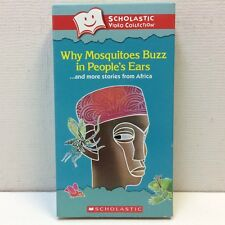 Scholastic • Why Mosquitoes Buzz in People's Ears • HTF‼ VHS African Folk Tales