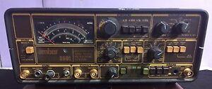 Amber 3501 Vintage Distortion Analyzer 3501-01000 calculates harmonic sinewave