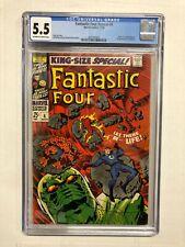 Fantastic Four Annual #6 1st Annihilus, 1st Franklin Richards, CGC 5.5 FN-    .3